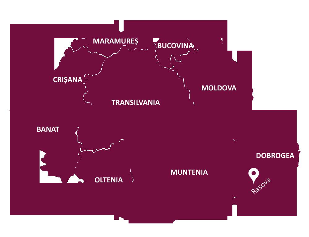 Rasova Map